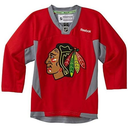 NHL Toddler Chicago Blackhawks Team Color Replica Jersey - R54Hwbdd (Red, 2-4T)