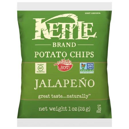 Kettle Brand Jalapeno Multipack of Potato Chips, 1 Oz, 72 - Jalapeno Costume