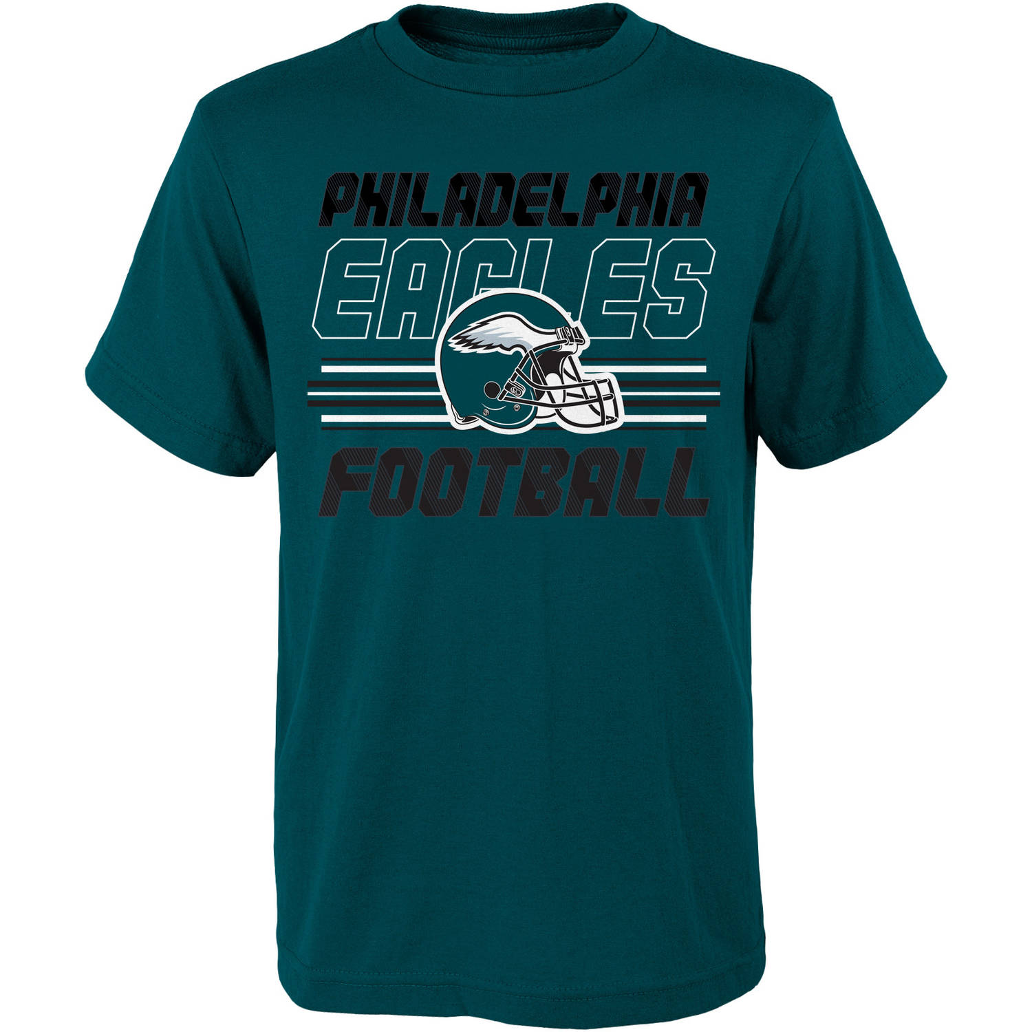 NFL, Team: EAGLES ,Youth Team SS Tee, Sizes 4-18, Team Colors