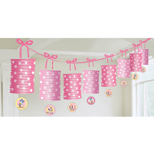 Minnie'S 1St Birthday Garland