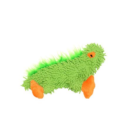 Mighty Junior Microfiber Lizard, Durable Dog Toy, Green ()