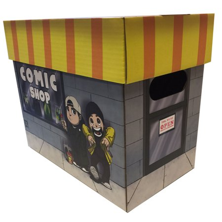 Jay And Silent Bob Clerks Licensed Comic Book Storage Box Holds 100 125 Comics