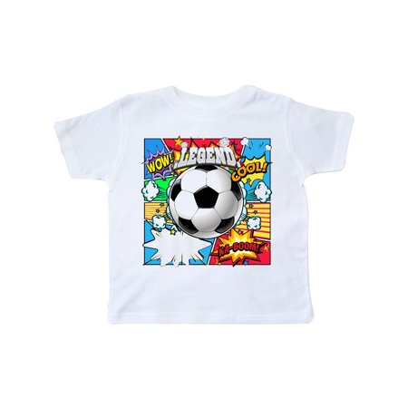 Soccer Superhero Toddler T-Shirt (Cheap Superhero Outfits)