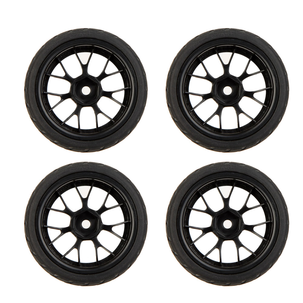 GoolRC 4Pcs High Performance 1 10 Rally Car Wheel Rim and Tire 20101 for Traxxas HSP... by