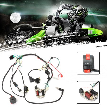 1 Set Wire Harness Wiring CDI Assembly for motorcycleaccessorie 50/70/90/110cc/125cc ATV Quad Coolster GO KART