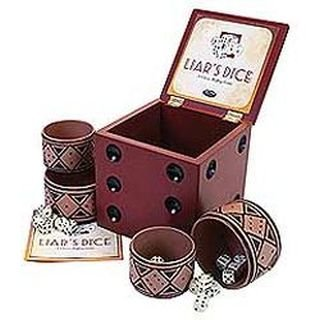 Liars Dice Game, By University Games by