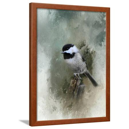 - Winter Chickadee Framed Print Wall Art By Jai Johnson