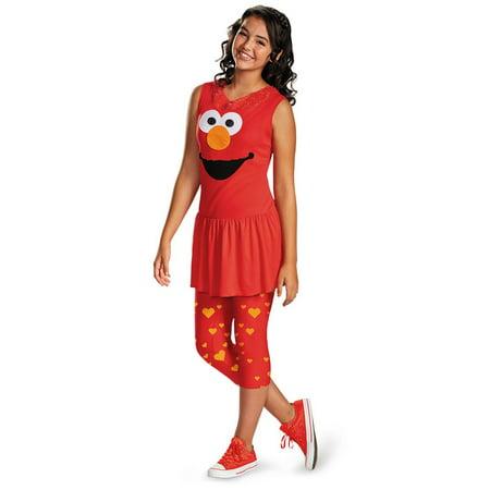 Sesame Street Elmo Tween Costume - Sesame Street Costumes For Teens