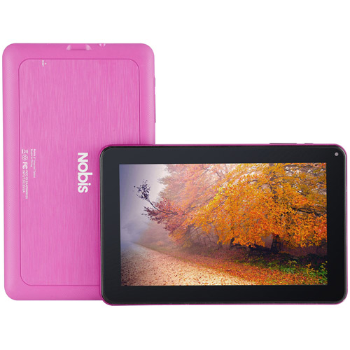GET Refurbished Nobis NB09-PINK 8GB Pink 9″ Wi-Fi Android Tablet NOW