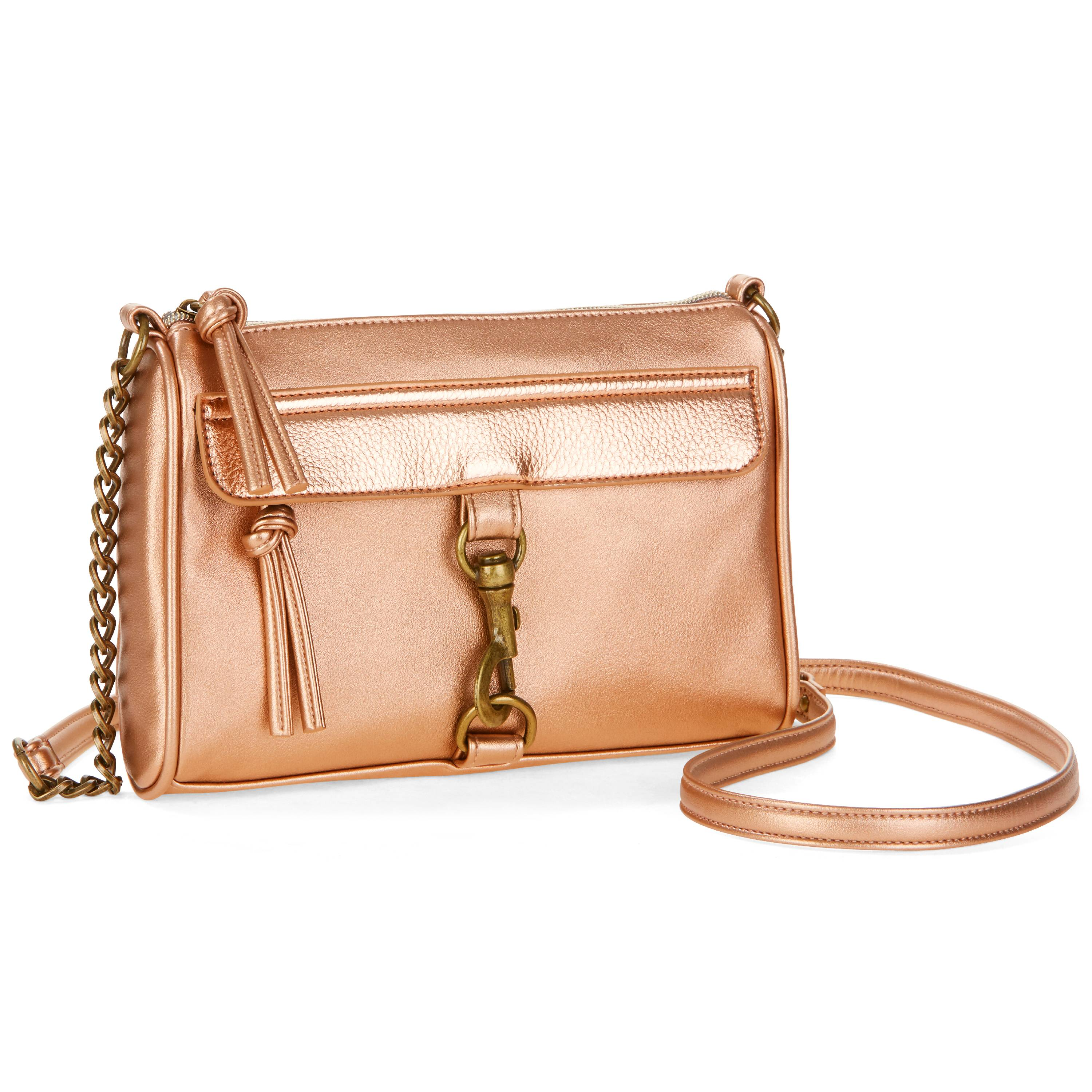 No Boundaries Faith Metallic Crossbody