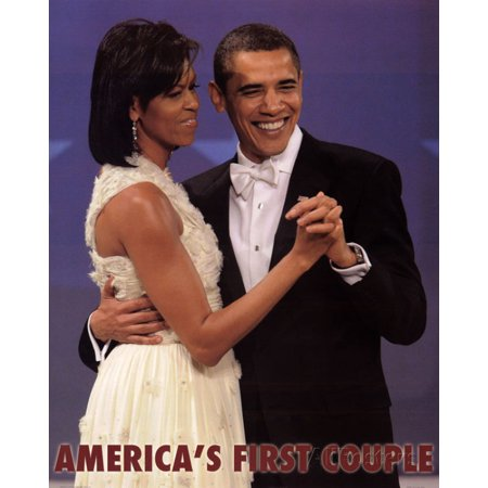 Michelle and Barack Obama - First Couple - Dance 20x16 Art Print Poster](Halloween Dance Poster Ideas)