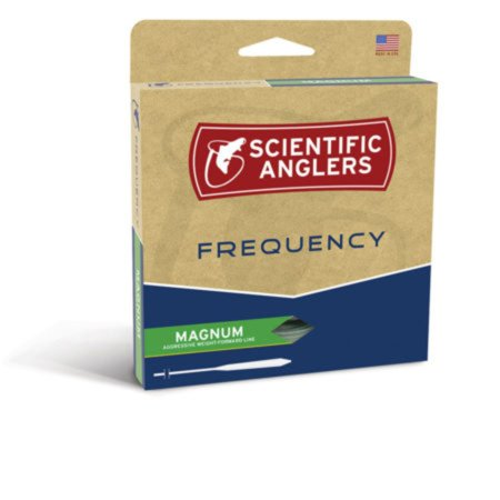 Scientific Anglers Frequency - Magnum - Ivory/Glow WF-7-F