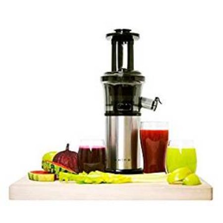 Tribest Shine Vertical Compact Cold Press Masticating Juicer ()
