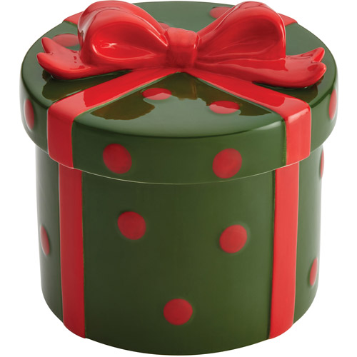 Cake Boss Holiday Gift Cookie Jar