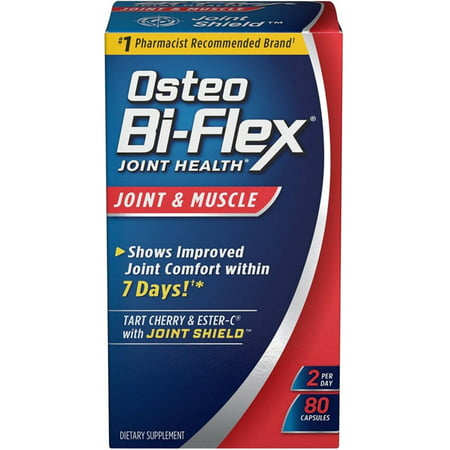 3 Pack - Osteo Bi-Flex Joint Health Joint & Muscle Capsules 80 ea
