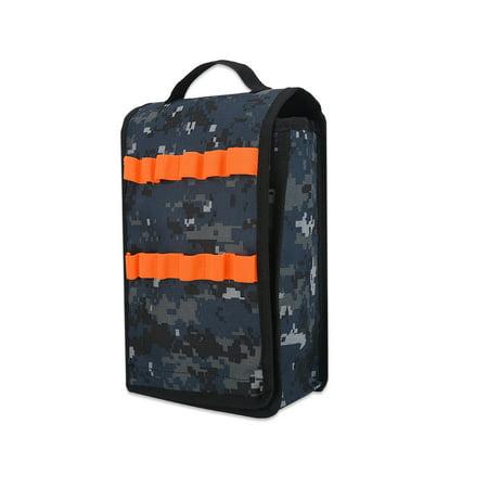 Toy Gun Eva Cartridge Holder Bag Soft Bullets Storage Handbag For Nerf Gun N Strike Elite Series