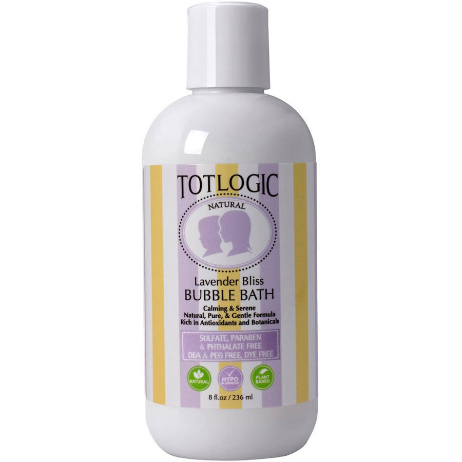 TotLogic Lavender Bliss Bubble Bath, 8 fl oz
