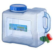 8L Water Bucket Portable Outdoor Picnic Water Tank Container with Faucet