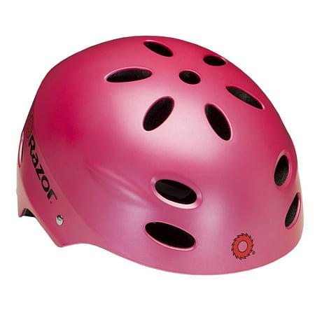 Razor V17 Youth Helmet  Satin Pink