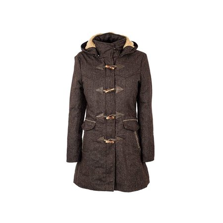Womens Brown Tweed - Sts Ranch Wear Womens STS Paddington Tweed Jacket S Brown