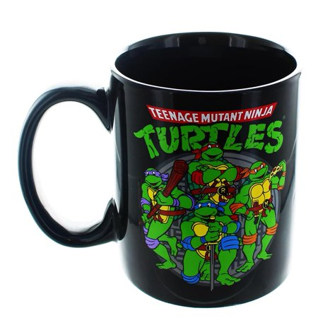 Teenage Mutant Ninja Turtles Group 20oz Mug ()