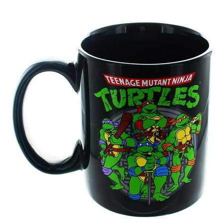 Teenage Mutant Ninja Turtles Group 20oz Mug](Ninja Turtles Cups)
