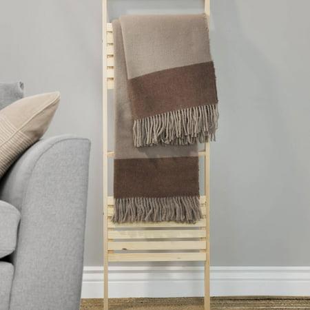 Somerset Home 100% Australian Wool Throw Blanket