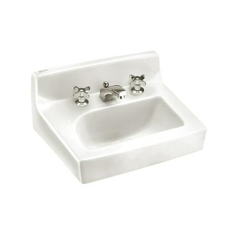 American Standard Penlyn Wall Mount Porcelain Bathroom Sink 0373.050.020 White