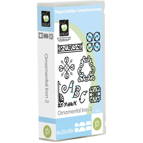 Cricut Ornamental Iron 2 Cartridge
