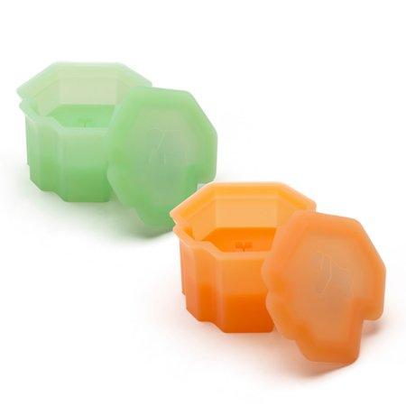 Mono 3-D Savanna Ice Silicone Elephant & Gorilla Ice Cube Mold Set (Mono Mold)
