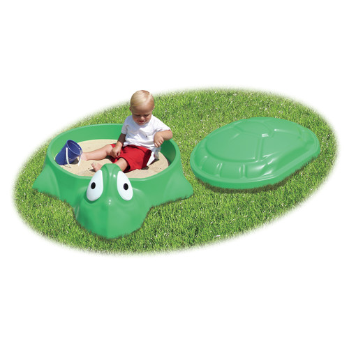 General Foam Baby Turtle Sandbox With Top