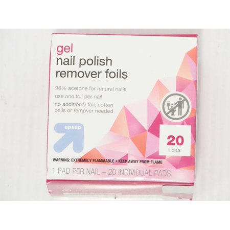 Gel Nail Polish Remover Pads - 20ct - up up Felt Nail Polish Remover Pads