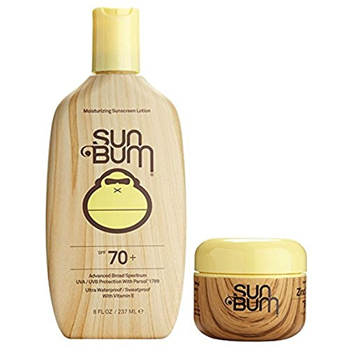 Sun Bum SPF 70 8oz Lotion + Clear Zinc Oxide