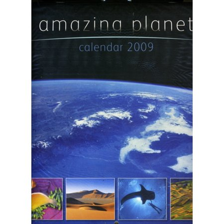 Amazing Planet Square Wirestitched Calendar  Na   Calendar