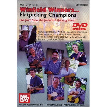 Winfield Winners: Flatpicking Champions Live From Steve Kaufman'sFlatpicking Kamp (DVD) - Winfield Halloween