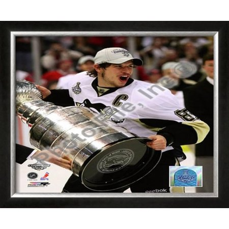 Sidney Crosby Game 7 - 2008-09 NHL Stanley Cup Fin... Framed Photographic Print Wall