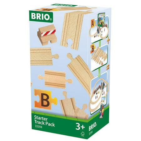BRIO Starter Wooden Track Pack Train 13 Piece Set #3394