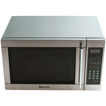 Magic Chef 1 3 Cubic Foot Digital Microwave Stainless