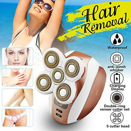 5 Head Electric Razor Shaver Bald Beard Hair Trimmer Eagle Remover Clipper Men /Women