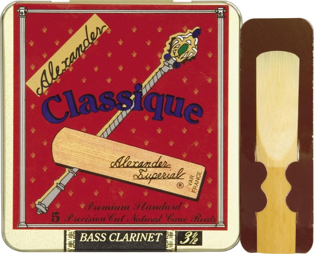 Classique Bass Clarinet Reeds by Alexander Reeds