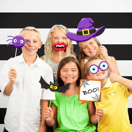 Creative Halloween Party Snacks (Halloween Party Photo Booth)