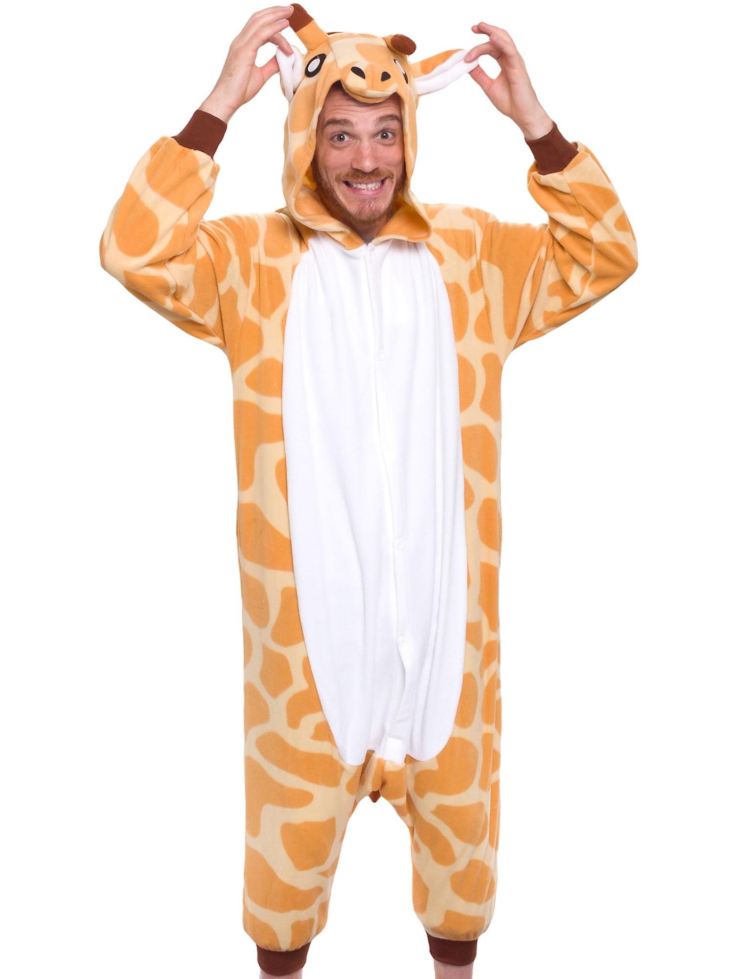 SILVER LILLY Unisex Adult Plush Animal Cosplay Costume Pajamas (Giraffe) -  Walmart.com a8f6f0cf750d