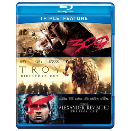 Alexander: Revisited / Troy / 300 (Blu-ray) (Widescreen)
