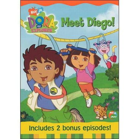 dora the explorer credits meet diego
