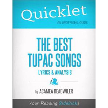 Quicklet on The Best Tupac Songs: Lyrics and Analysis - eBook](Song Lyrics About Halloween)