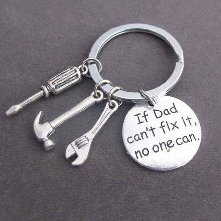 Cute Silver Keyring Hand Tools Keychain Gift For - Cute Keychains