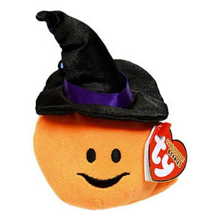 TY Halloweenie Beanie Baby - WITCHY the Pumpkin Witch (3 inch)](Witchy Witch)