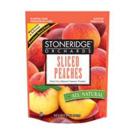 Stoneridge Orchard Fruit Drd Sliced Peach 4 Oz  Pack Of 6