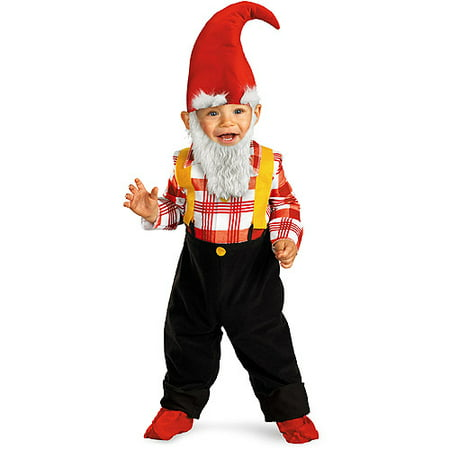 Gnome Boy Toddler Halloween Costume](Lawn Gnome Halloween Costume Baby)
