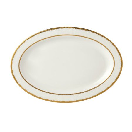Lorren Home Trends La Luna Sonia 14'' Bone China Serving Platter